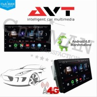 AVT Double Din Head Unit Android Universal 7 INCH SIM CARD 4G Mtech