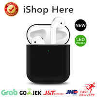 Apple AirPods 1 2 Silicon Case Pouch LED Visible   Casing Airpod LED