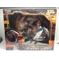 PVC POP XXL One Piece Onepiece Anime Luffy Gear Fourth Kong Gun NEW