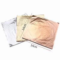 kertas foil emas gold leaf foil sheet kertas prada sepuhan sepuh 1000