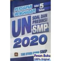 Buku Edisi 5 Tahun Persiapan Menghadapi UN Soal Dan Prediksi SMP 2020