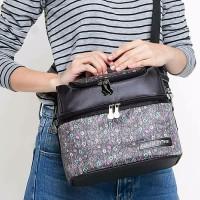 Natural Moms Cooler Bag Sling Black Phoenix / Tas Asi Bayi