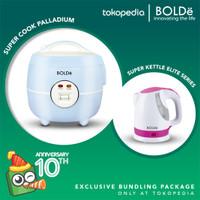 (Exclusive) Bolde Super Cook Palladium Eco + Super Kettle Elite Series
