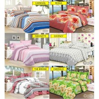 V-Bed Bed Cover Set 160x200x30 No.2 Queen Size