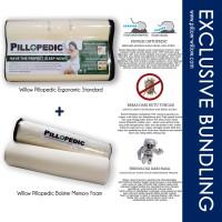 Bantal Ergonomic dan Guling Memory Foam Set