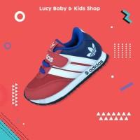 Sneakers Anak / Sepatu Olahraga Anak / Sepatu Anak Murah Merah Navy
