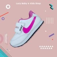 Sneakers Anak / Sepatu Olahraga Anak / Sepatu Nike Anak Putih List