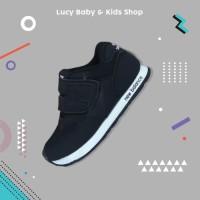 Sneakers Anak / Sepatu Olahraga Anak / Sepatu Anak Hitam Murah