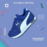 Sneakers Anak / Sepatu Olahraga Anak / Sepatu Puma Anak Murah Biru