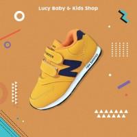 Sneakers Anak / Sepatu Olahraga Anak / Sepatu Anak Murah Orange List