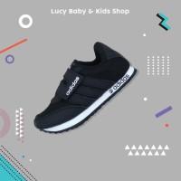 Sneakers Anak / Sepatu Olahraga Anak / Sepatu Anak Murah Full Hitam