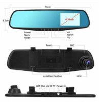 Car Camcorder Camera DVR / Kamera kaca rearview spion Mirror