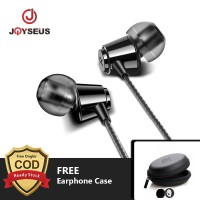 JOYSEUS B8 In-Ear Earphone For iPhone HIFI Bass Stereo Wired FREE CASE