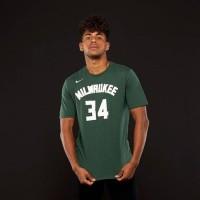 T-Shirt NBA MILWAUKEE BUCKS GIANIS ANTETOKOUNMPO #34 Dri-FIT NIKE -