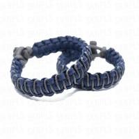 Cobra Stitch Paracord Bracelet / Gelang Survival - High Quality - #02