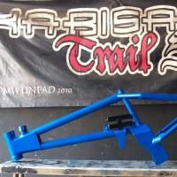 frame sepeda bmx cub untuk mesin motor bebek frame bmx cub