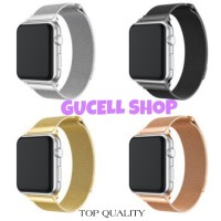STRAP IWATCH MILANESE APPLE WATCH 4 3 2 1 MAGNET TALI JAM 44 40 42 38