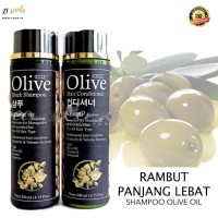 PAKET Shampo Conditioner Olive Oil Penumbuh Rambut Kemiri
