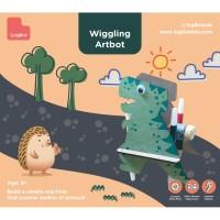 Mainan Edukasi Anak - Wiggling Artbot (Dino)