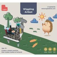 Mainan Edukasi Anak - Wiggling Artbot (Giraffe)