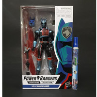 Action Figure Power Rangers Lightning Collection S.P.D. Shadow Ranger