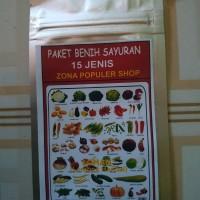 benih paket sayuran dan buah berkwalitas(15 jenis paket)
