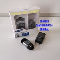 TERMURAH! CHARGER SAMSUNG NOTE 4 FAST CHARGING USB MICRO ORIGINAL Q2.0 - Hitam