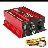 Power Amplifier Mobil Speaker 2 channel 500W - Kinter MA150 MURAH