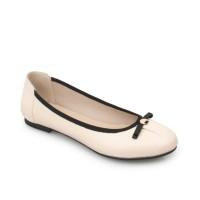 Symbolize Naura Flat Shoes - Krem