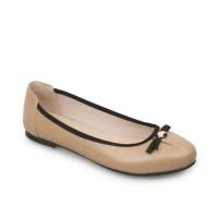 Symbolize Naura Flat Shoes - Coklat