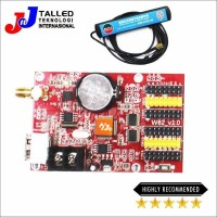 CONTROLLER CARD RUNNING TEXT USB & WIFI HD-W62