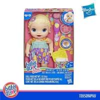 Baby Alive - SNACKIN LILY Bisa makan, poop / Boneka bayi / Mainan bayi