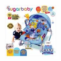 Jessen Bouncer Sugar Baby 10 in 1 Premium - Extra Large Seat