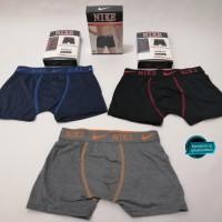 Celana Dalam Boxer Nike, Adidas, dan Calvin Klein