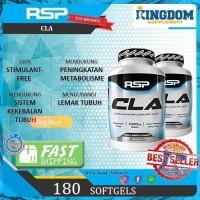 Suplemen Fitness RSP CLA 180 Softgels Fat Burner Pembakar Lemak Prom