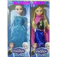 Mainan Boneka Barbie Frozen Anna & Elsa