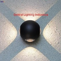 D2019088-4W LAMPU DINDING OUTDOOR DINDING TAMAN HIAS SOROT LED 4 WATT
