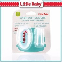 LITTLE BABY Silicon Finger Brush Sikat Gigi Jari Sikat Lidah Silikon