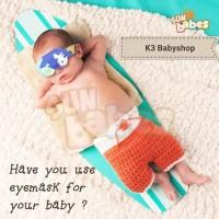 Sun Babes Washable Baby Eye Mask Kacamata Jemur Bayi Penutup Mata Bayi