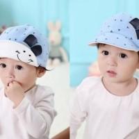 Topi Lucu / Topi Bayi / Topi Anak Trendi / Topi Keren - Hitam