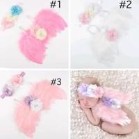 sayap bayi kostum bayi dan anak warna pink