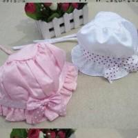 Topi bayi polkadot