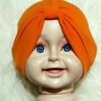 Turban Bayi Polos ( Tanpa Jilbab) - JB003