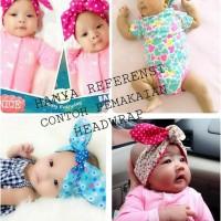 headwrap bayi / bandana bayi