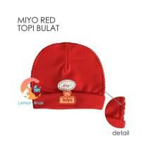 MIYO Red Topi Bulat Newborn