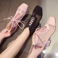 Sepatu Wanita Korean Style Import (Ankle Boots) - 7151901