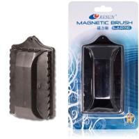 Pembersih Kaca Magnet Akuarium Resun Magnetic Brush Aquarium Small cle