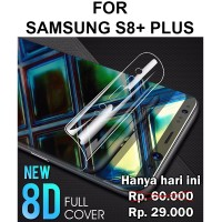 Hydrogel screen guard Samsung S8 Plus anti gores full cover layar edge