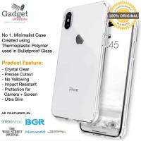 Original Caudabe Lucid Clear Case iPhone X / Xs / Xr / Xs Max - Casing