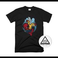 kaos/sablon/custom/comik/avengers/superhero/marvel/spiderman